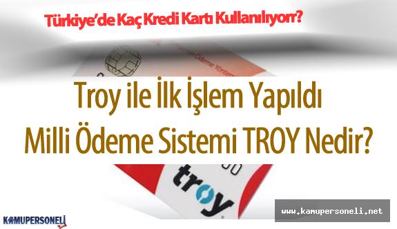 TROY 10 Banka ile Başlayacak ( TROY Nedir? İlk Milli Ödeme Sistemi Hakkında Bilgiler)
