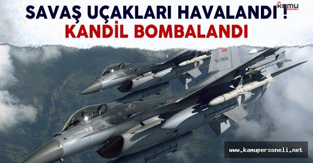 TSK'dan flaş açıklama: Jetler Kandil'i bombaladı