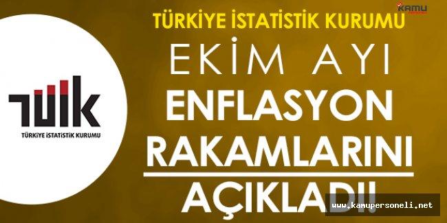 TÜİK Enflasyon Rakamlarını Açıkladı: İşte Ekim Ayının Şampiyonu!