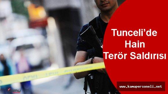 Tunceli'de Polis Kontrol Noktasına Saldırı Düzenlendi