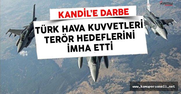 Türk Hava Kuvvetleri'ndan Kandil'e Hava Harekatı