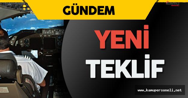 Türk Hava Yolları'ndan Pilot Açığı için Yeni Teklif