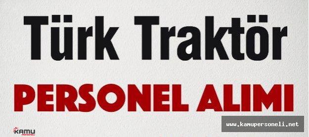 Türk Traktör 26 Personel Alım İlanı 2016
