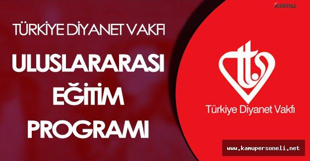 """Türkiye Diyanet Vakfı: """"Öğrencilerin ihtiyaçları vakıf tarafından karşılanıyor"""""""