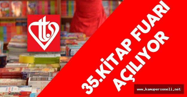 Türkiye Diyanet Vakfı (TDV) 35. Kitap Fuarı Açılıyor