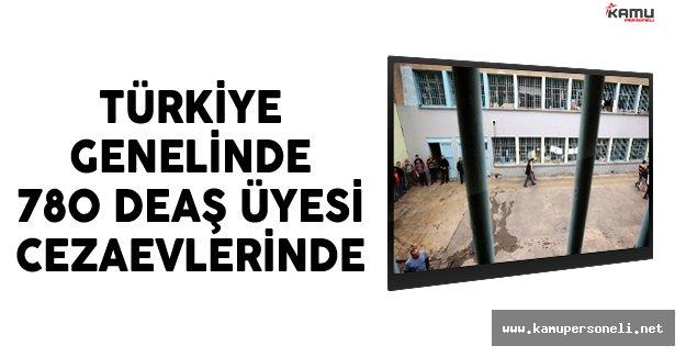Türkiye Genelinde 780 DEAŞ Üyesi Cezaevlerinde