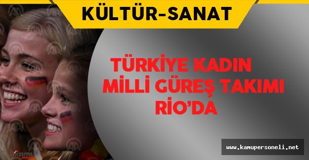Türkiye Kadın Milli Güreş Takımı Rio'da