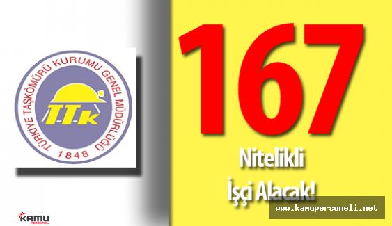 Türkiye Taşkömürü Kurumu Genel Müdürlüğü 167 Nitelikli İşçi Alımı Yapacak