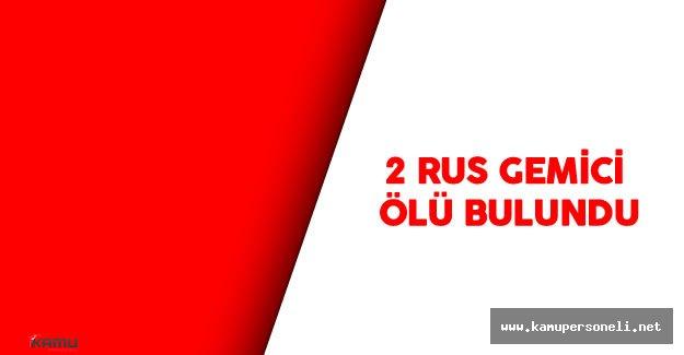 Tuzla'da 2 Rus Ölü Bulundu