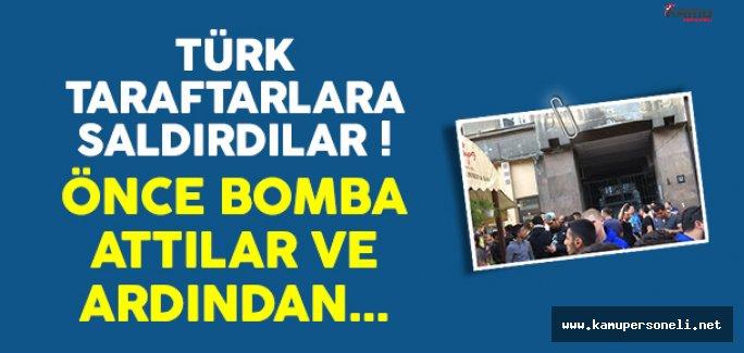 Ukrayna'da Fenerbahçe Taraflarının Üzerine Bomba Atıldı !