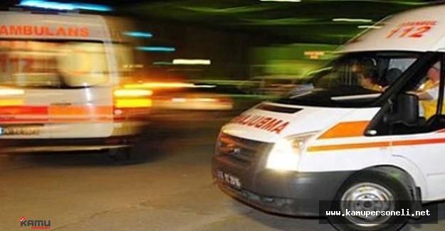 Uşak'ta Zincirleme Trafik Kazası: 9 Yaralı