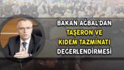 Maliye Bakanı Ağbal'dan Taşeron ve Kıdem Tazminatı Değerlendirmesi