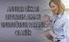 Devlet Annelere Destek Olmak Amacıyla Farklı Alanlarda Ödemeler Yapıyor