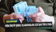 Prim Ödeyip Emekli Olamayanlara SGK'dan Toplu Para