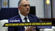 Maliye Bakanı Ağbal Ek Gösterge Konusuna Dair Açıklamalarda Bulundu