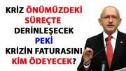 Kılıçdaroğlu, 2019 bütçe kanunu teklifi hakkında konuştu
