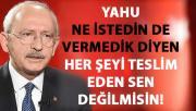 Kılıçdaroğlu, FETÖ'nün siyasi ayağı hakkında konuştu