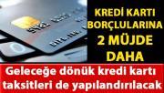 Ziraat Bankası, geleceğe dönük kredi kartı taksitlerini de yapılandıracak