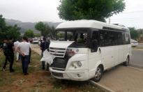 Denizli'de öğrencileri taşıyan araç kaza yaptı! Yaralılar var...