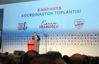 Ekrem İmamoğlu seçim kampanyasını açıklıyor