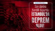 Son dakika Kandilli duyurdu: İstanbul'da deprem oldu!