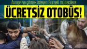 Bolu Belediye Başkanı Özcan açıkladı: Avrupa'ya gitmek isteyen Suriyeli mültecilere ücretsiz otobüs!