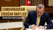 Cumhurbaşkanı Erdoğan onayladı: Atama kararları Resmi Gazete'de yayımlandı