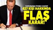 Cumhurbaşkanı Erdoğan atamaları onayladı! 14 Temmuz Resmi Gazete'de yayımlandı