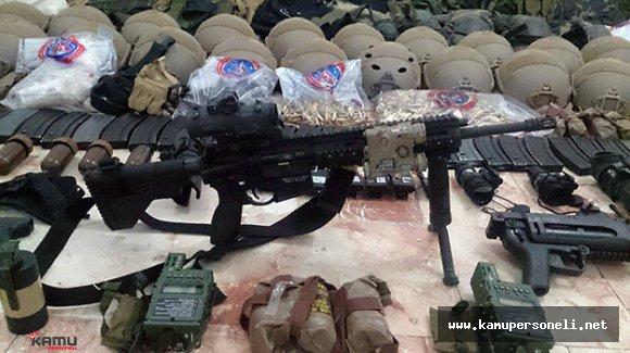 Van'da PKK Mensuplarına Ait Silah ve Mühimmat Bulundu