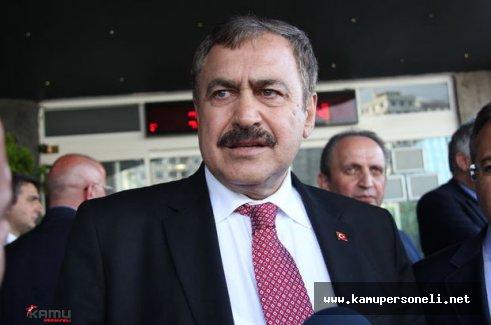 """Veysel Eroğlu: """"Bugün 14 tane orman yangını çıktı"""""""