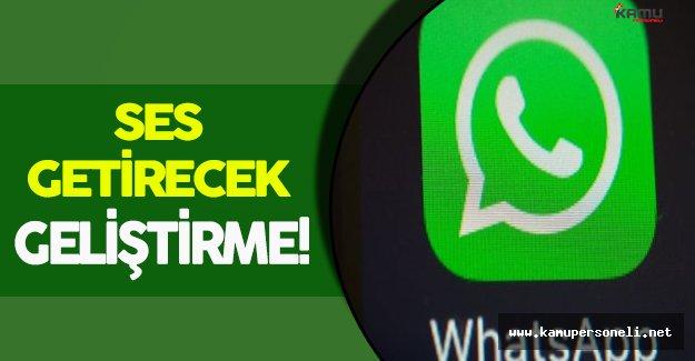 Whatsapp Yeni Özelliğini Test Ediyor