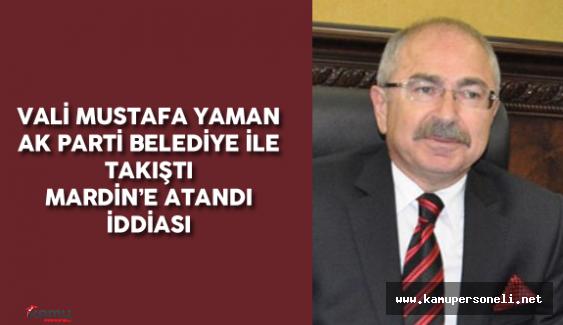 Yeni Mardin Valisi Mustafa Yaman Kimdir? Nerelidir?