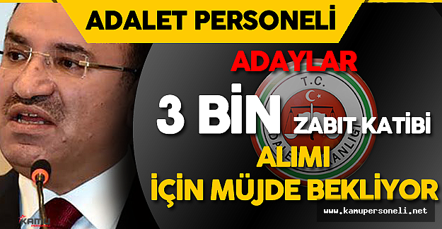 """Zabıt Katibi Adayları: """" 3 Bin Zabıt Katibi Alımı Unutuldu Mu?"""""""