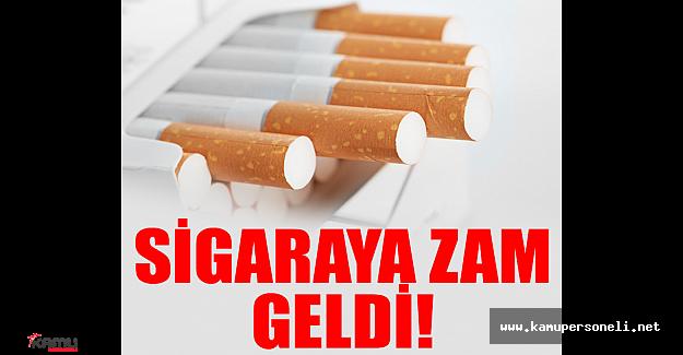 Sigara Fiyatlarına Zam Devam Ediyor