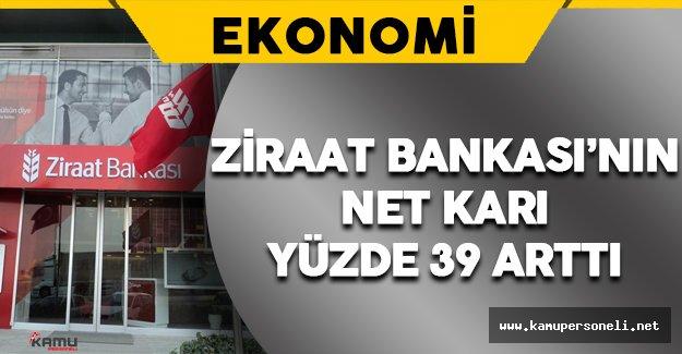 Ziraat Bankası'nın Net Karı Yüzde 39 Arttı