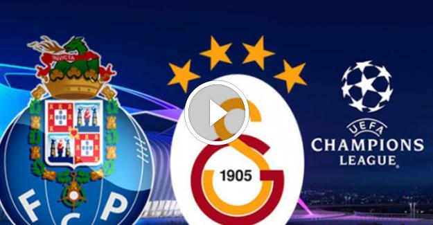 Galatasaray- Porto Şampiyonlar Ligi Maç Özeti