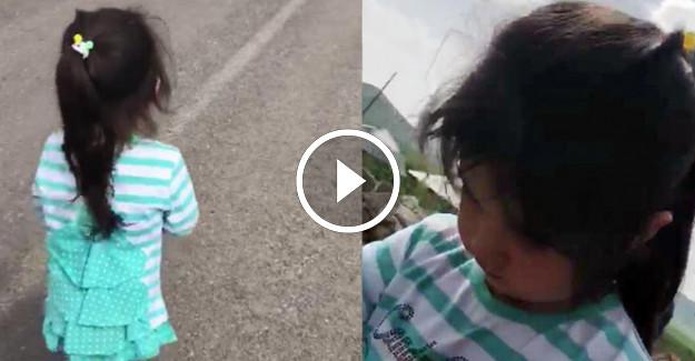 4 Yaşındaki Kayıp Leyla#039;nın Son Görüntüleri