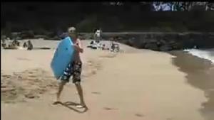 Su kayağı yapmak isteyen hevesli gencin hazin sonu