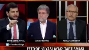 AK Parti Medya Başkan Yardımcısı Emre Cemil Ayvalı: FETÖ'yle AK Parti kol kola girdiyse bunu farklı darbecileri tasfiye etmek için yaptı!