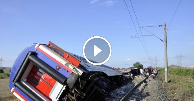 Tekirdağ Çorlu Tren Kazasında Vefat Edenlerin Sayısı 24 Oldu!