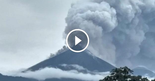 Guatemala#039;da Yanardağ Faciası: Çok Sayıda Ölü ve Yaralı Var