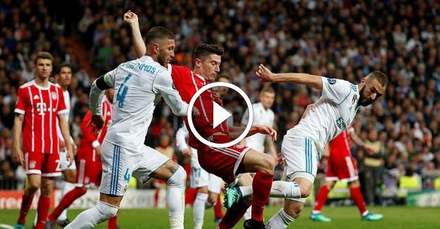 Real Madrid Bayern Münih Şampiyonlar Ligi Maç Özeti! Cüneyt Çakır'ın Kararı Çok Konuşulacak