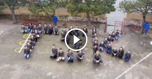 Kırklareli Üsküp Atatürk Ortaokulu Öğrencilerinden Mehmetçiklerimizle Gurur Duyacağınız Klip
