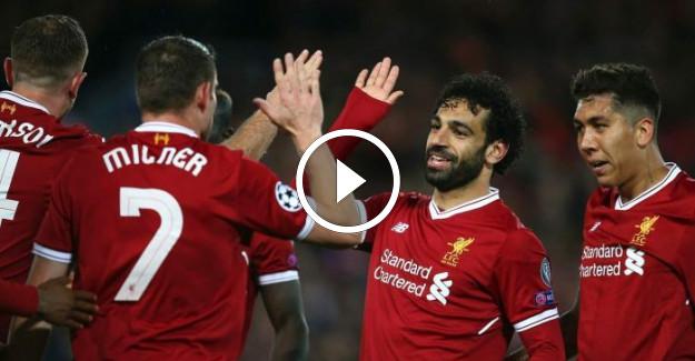 Liverpool AS Roma Şampiyonlar Ligi Maç Özeti! Mohamed Salah Şov Yaptı