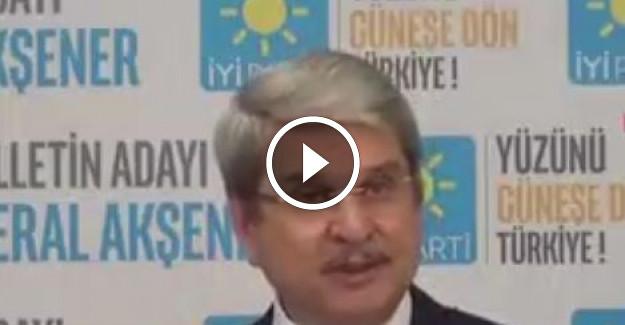 İYİ Parti'li Aytun Çıray: Millet İttifakına Gerek Kalmadı