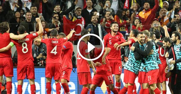 İsveç 2- 3 Türkiye Maçın Geniş Özeti