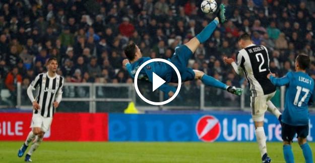 Cristiano Ronaldo, Juventus Maçında Öyle Bir Rövaşata Golü Attı Ki!
