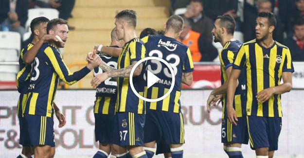 Fenerbahçe Antalyaspor Maç Özeti! Giuliano Rekor Kırdı