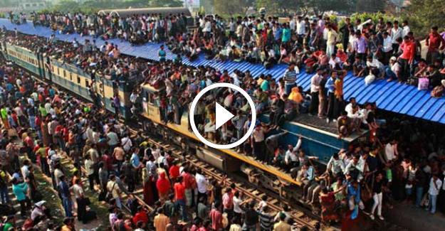 Hindistan#039;da Metroya Binmek!