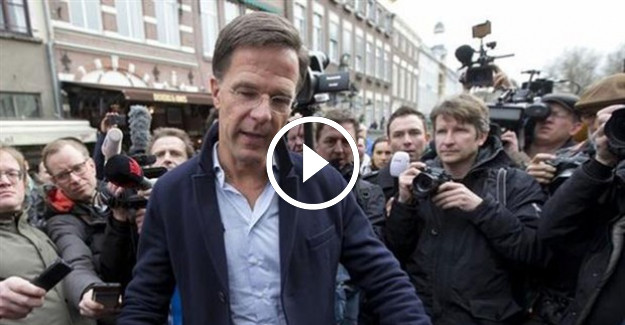 Hollanda Başbakanı Rutte'den skandal sözler